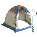Палатки и ледобуры
