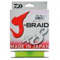 Шнур Daiwa J-Braid X8 0.06 Chartreuse