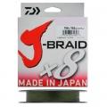 Шнур Daiwa J-Braid X8 0.06 Dark Green