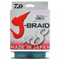 Шнур Daiwa J-Braid X8 0.18 Multi Color