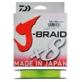 Шнур Daiwa J-Braid X8 0.18 Chartreuse