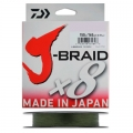 Шнур Daiwa J-Braid X8 0.22 Dark Green