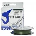 Шнур Daiwa J-Braid X4E 0.17 Dark Green