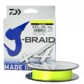 Шнур Daiwa J-Braid X4E 0.21 Yellow