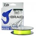 Шнур Daiwa J-Braid X4E 0.25 Yellow