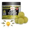 Бойлы Carp Zoom FLUO Pop Ups Yellow. Banana-Sweet Corn