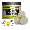 Бойлы Carp Zoom FLUO Pop Ups White. Pineapple-Squid